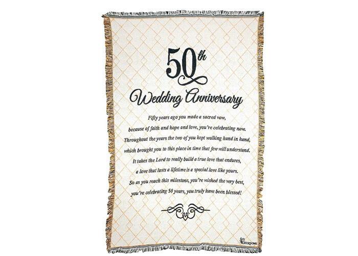 Golden Wedding Anniversary Gift Ideas
