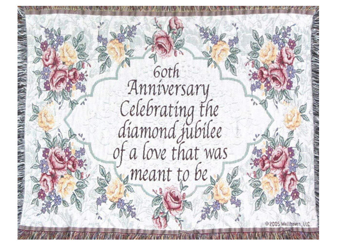 Gift Ideas For 60th Wedding Anniversary For Parents: 18 Unusual 60th Anniversary Traditional Gift Ideas For