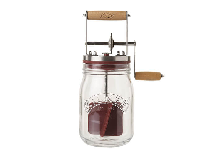 Make Butter At Home Under 10 Minutes With This Gift Kilner Churn Will Allow Your Favorite 60 Year Old Lady